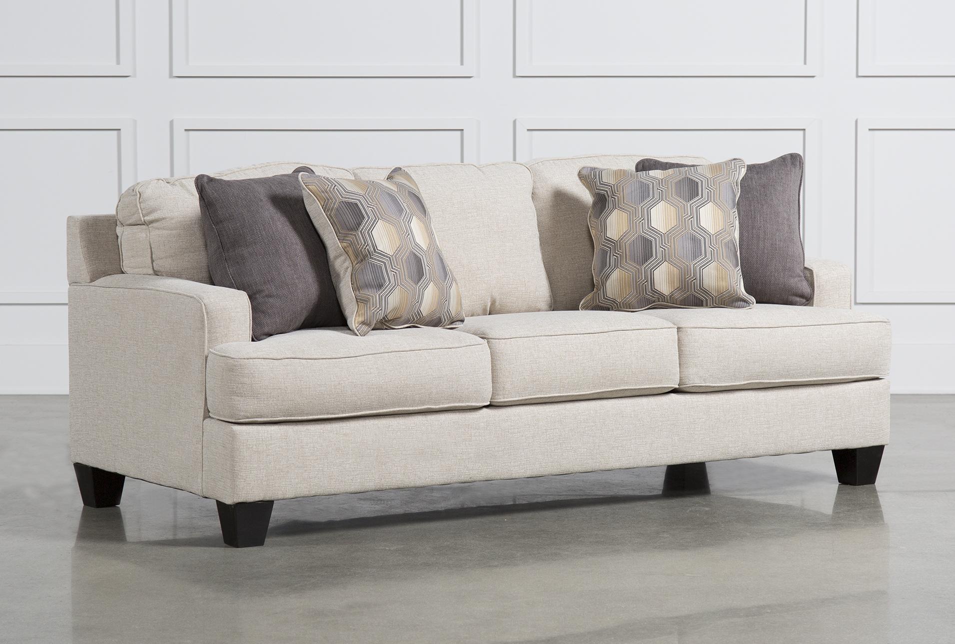Nice Brielyn Linen Sofa   360