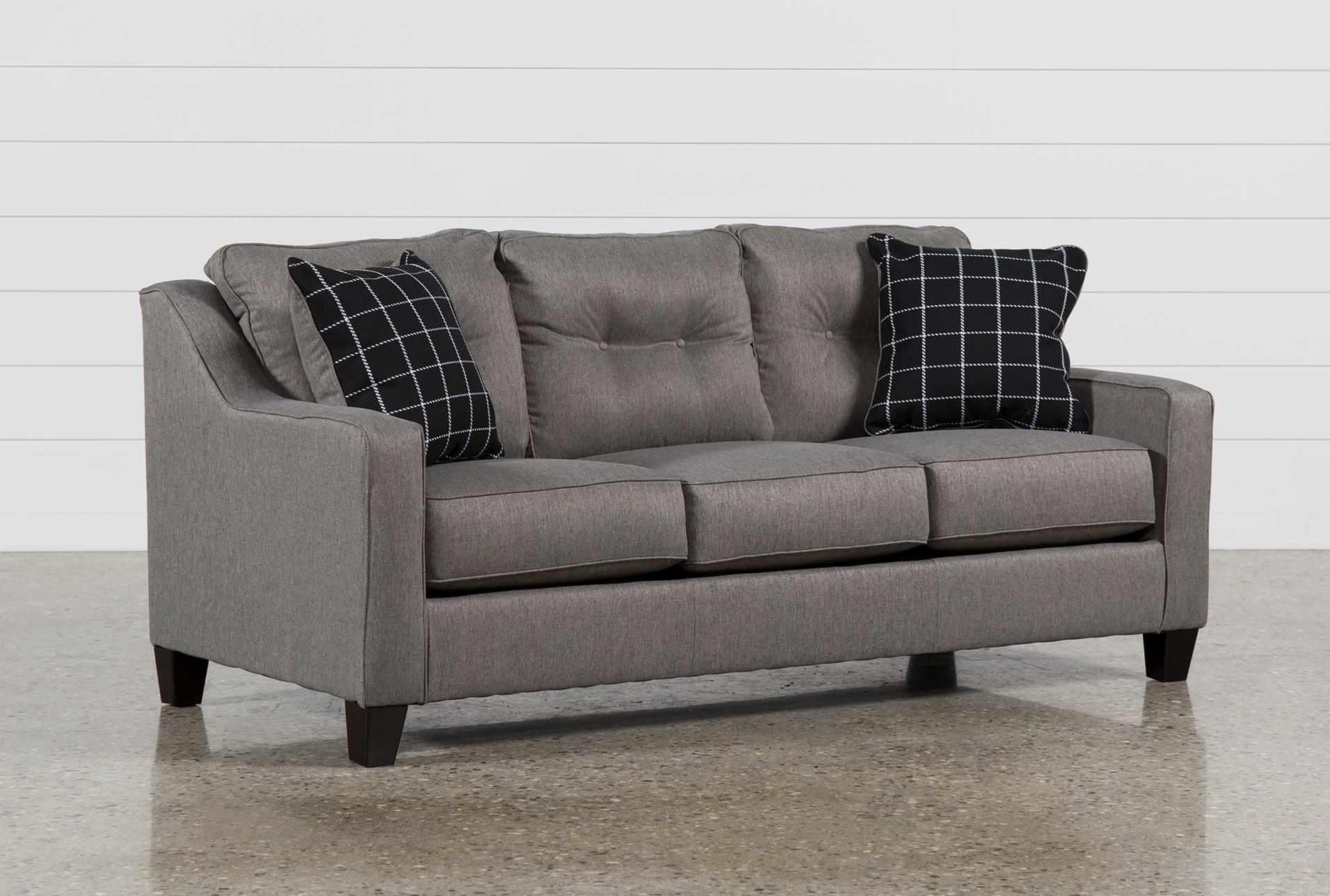 Brindon Charcoal Queen Sofa Sleeper Qty 1 Has Been Successfully Added To Your Cart