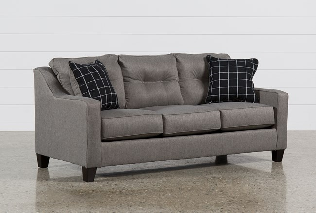 Brindon Charcoal Queen Sofa Sleeper - 360