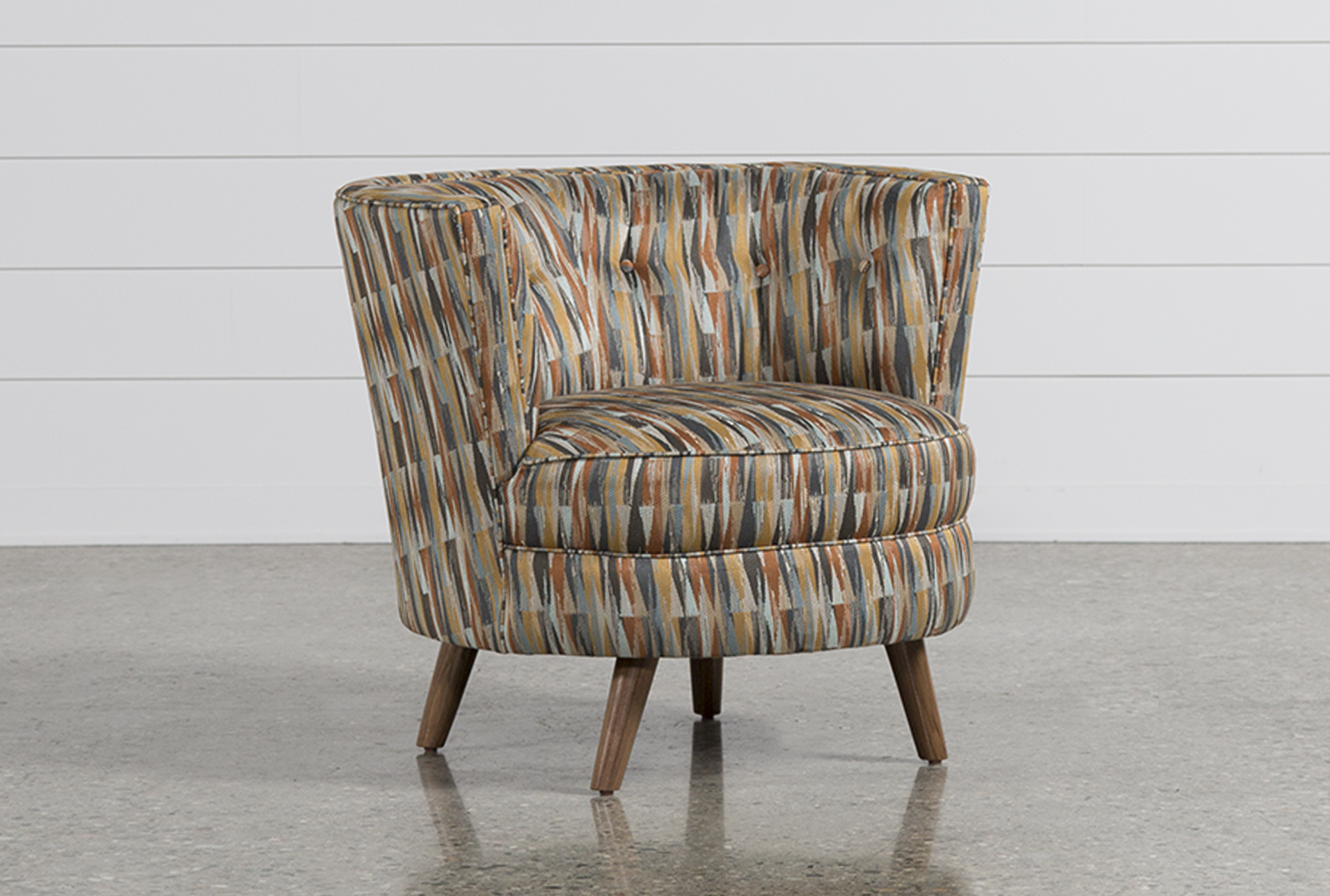 Large view & Martin Swivel Accent Chair | Living Spaces