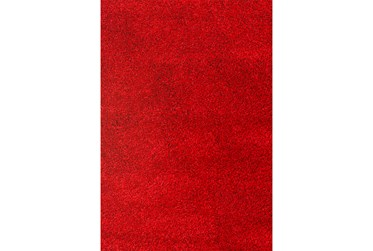 "7'8""x10'5"" Rug-Rylee Shag Red"