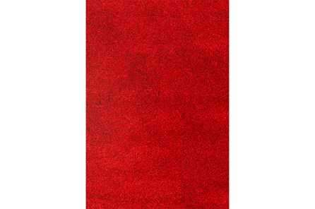 93X126 Rug-Rylee Shag Red