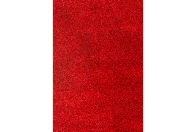 93X126 Rug-Rylee Shag Red - 360