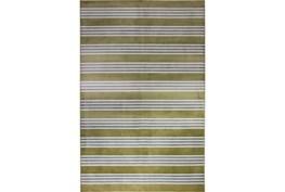 93X128 Rug-Elin Stripe Olive