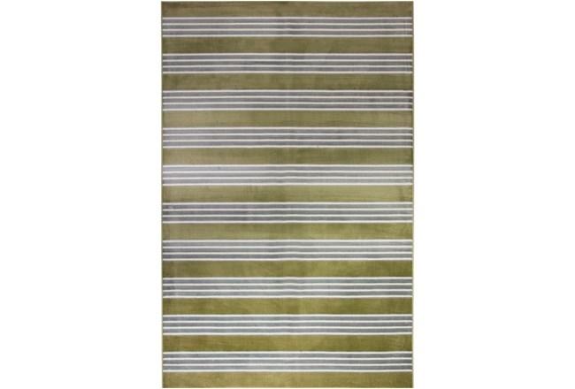 93X128 Rug-Elin Stripe Olive - 360