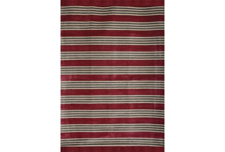 93X128 Rug-Elin Stripe Berry