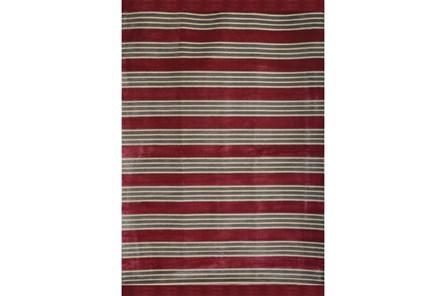 93X128 Rug-Elin Stripe Berry