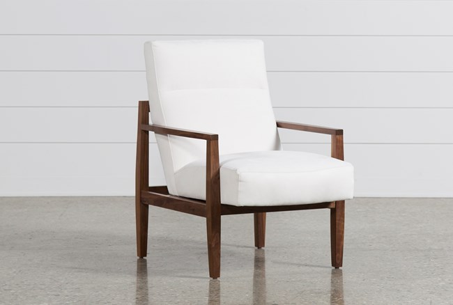 Russo Wood Accent Chair - 360