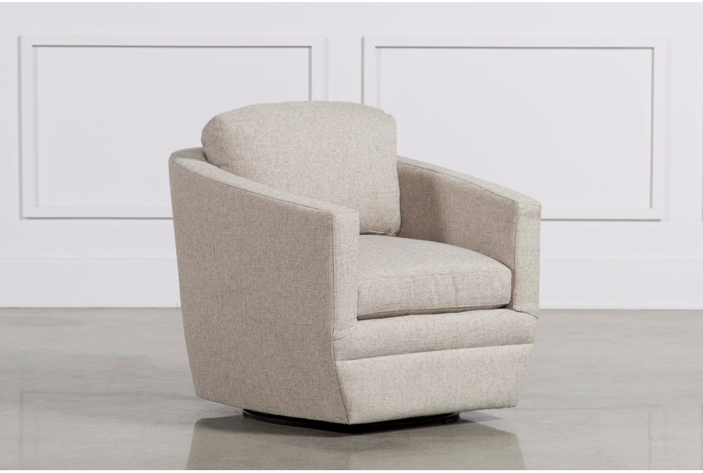 Chadwick Gunmetal Swivel Chair