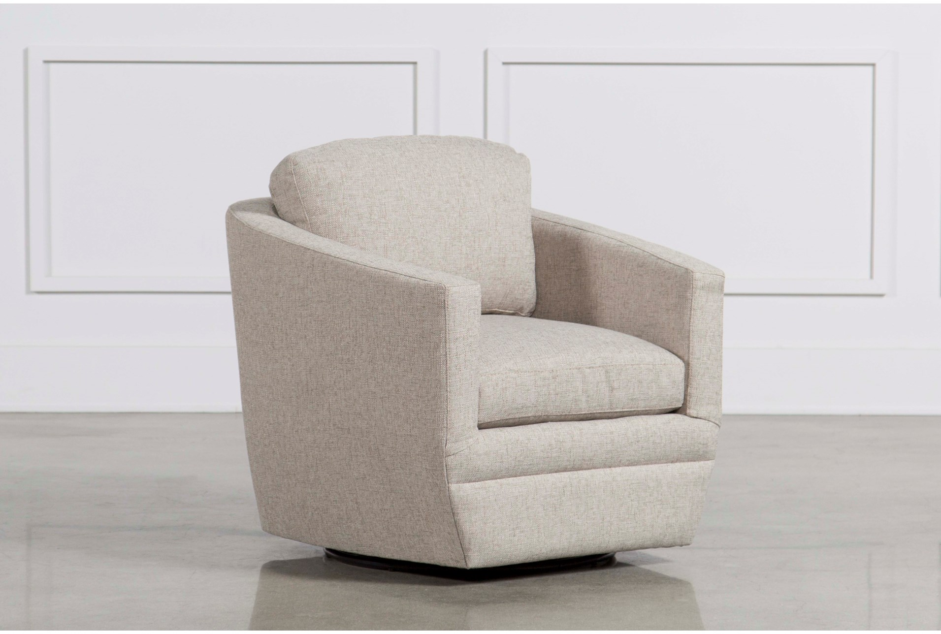 theo swivel chair living spaces