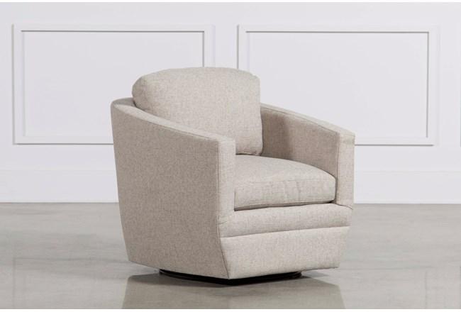 Chadwick Gunmetal Swivel Chair - 360
