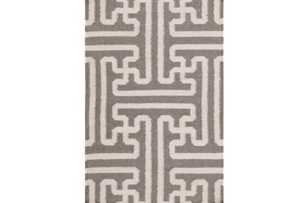 24X36 Rug-Vich Taupe/Ivory