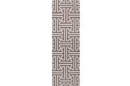 30X96 Rug-Vich Taupe/Ivory