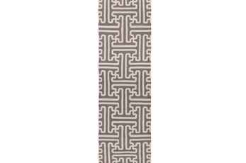 """2'5""""x8' Rug-Vich Taupe/Ivory"""