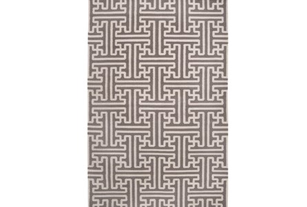 60X96 Rug-Vich Taupe/Ivory