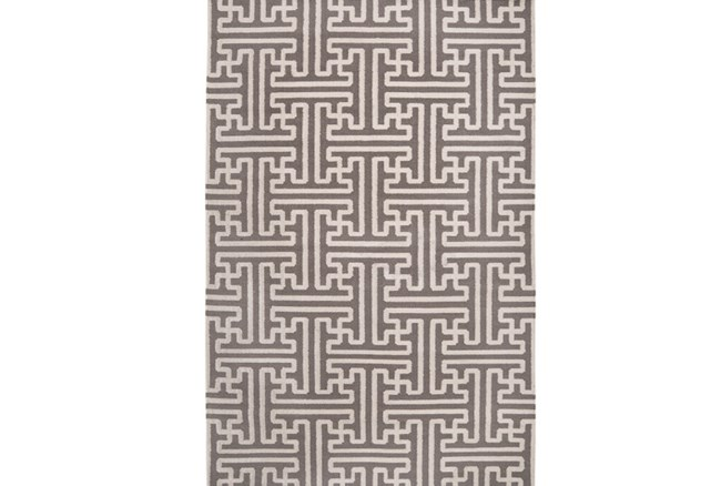 60X96 Rug-Vich Taupe/Ivory - 360