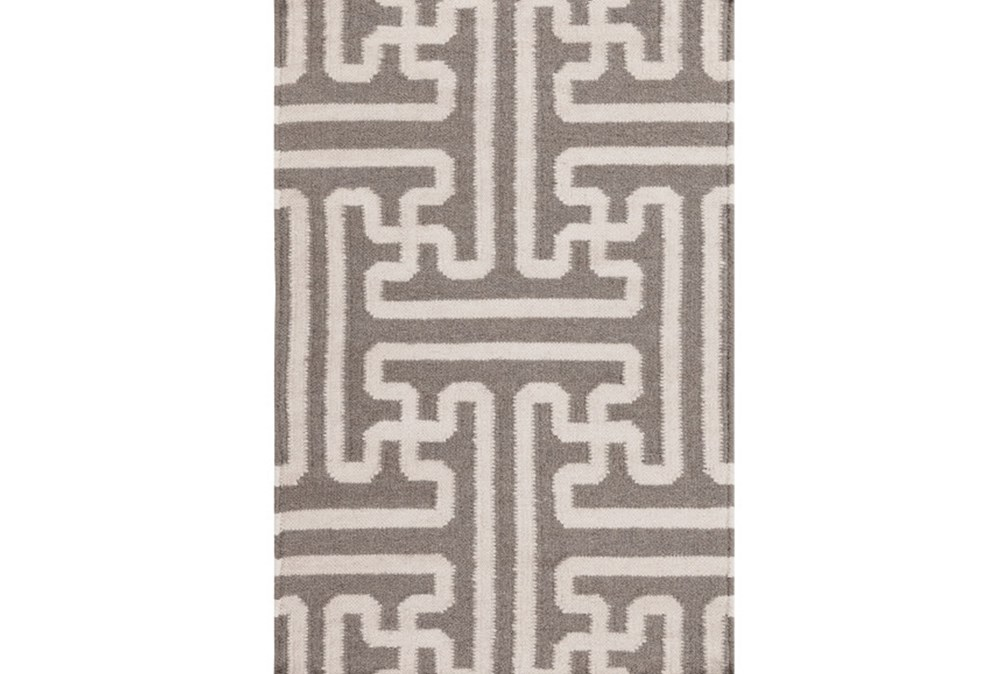108X156 Rug-Vich Taupe/Ivory