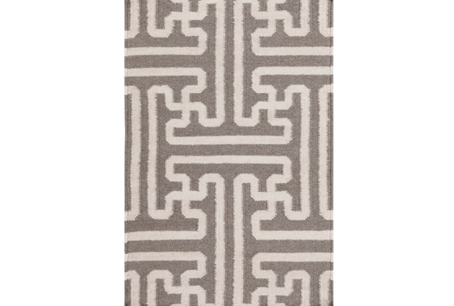 108X156 Rug-Vich Taupe/Ivory - 360