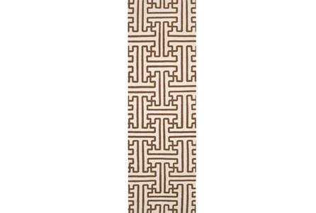30X96 Rug-Vich Chocolate