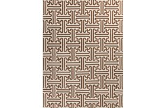 96X132 Rug-Vich Chocolate