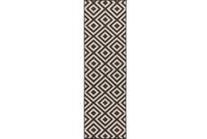 27X141 Rug-Hortensia Black