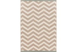 72X108 Rug-Tendu Chevron Grey