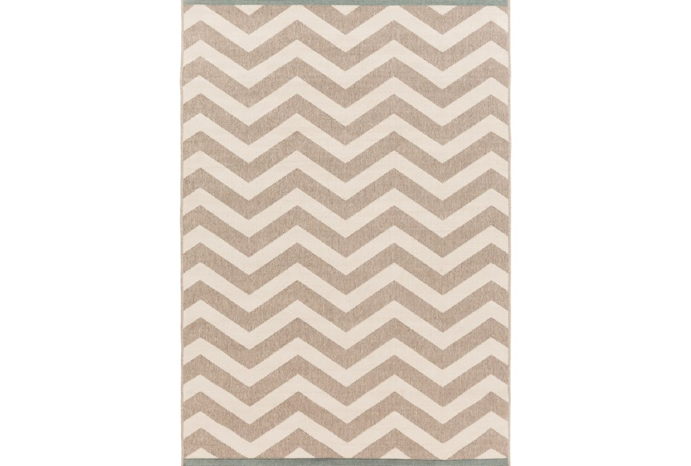 105X153 Rug-Tendu Chevron Grey