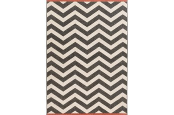 105X153 Rug-Tendu Chevron Black