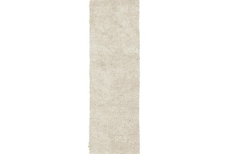 48X120 Rug-Komondor Ivory