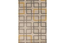 24X36 Rug-Platz Grey/Gold
