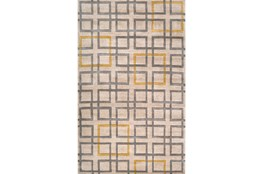 60X96 Rug-Platz Grey/Gold