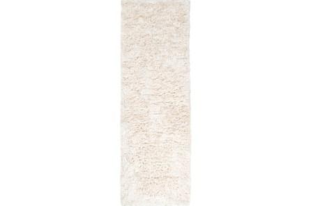 30X96 Rug-Bichon Ivory