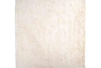 8'x8' Square Rug-Bichon Ivory
