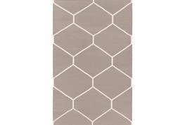 24X36 Rug-Sechs Taupe