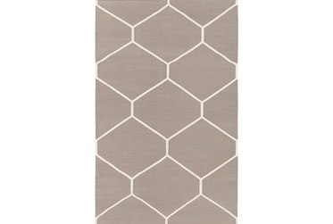 2'x3' Rug-Sechs Taupe