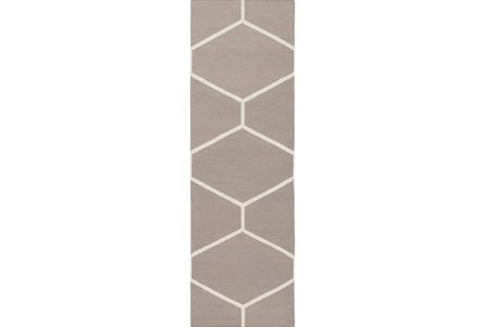 30X96 Rug-Sechs Taupe