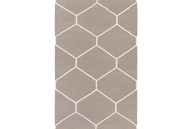 4'x6' Rug-Sechs Taupe - 360