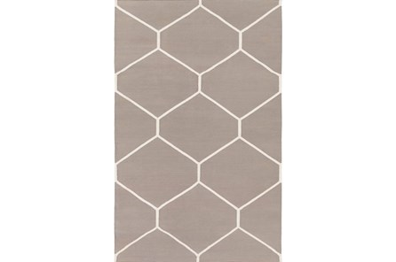 108X156 Rug-Sechs Taupe