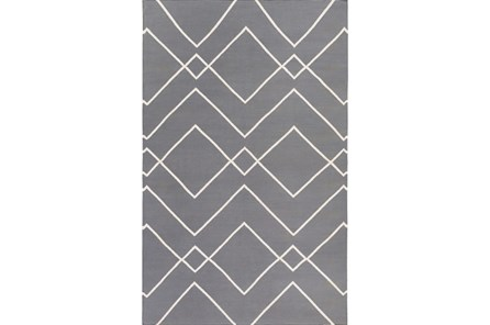 48X72 Rug-Ridge Grey - Main