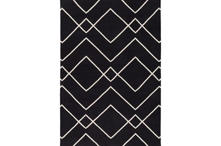 48X72 Rug-Ridge Black - Main