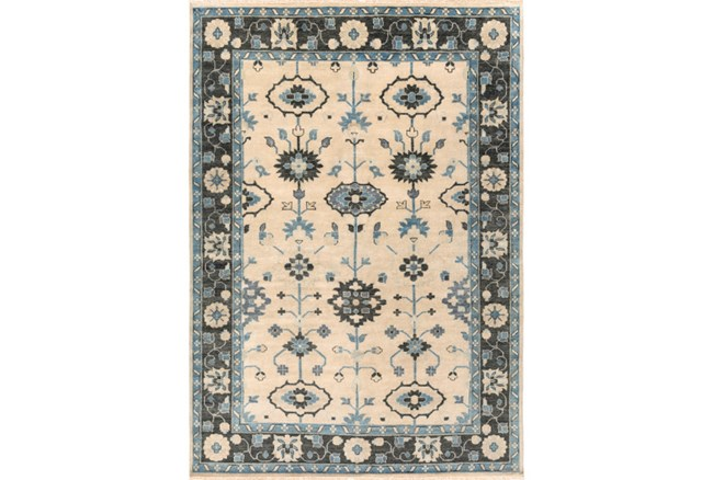 96X132 Rug-Clint Beige/Forest - 360