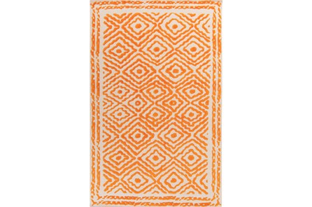 60X96 Rug-Iris Burnt Orange