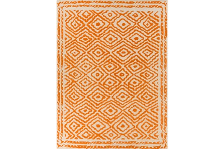 96X132 Rug-Iris Burnt Orange - Main
