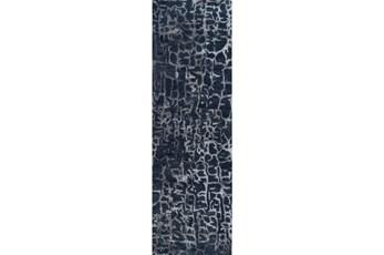 "2'5""x8' Rug-Grieta Cobalt"
