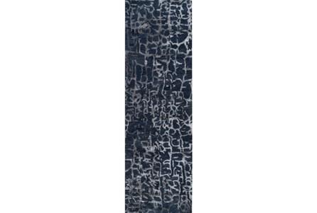 30X96 Rug-Grieta Cobalt