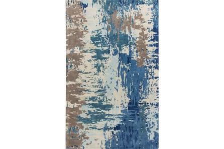 60X96 Rug-Pintura Blue