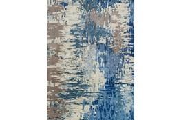 96X132 Rug-Pintura Blue
