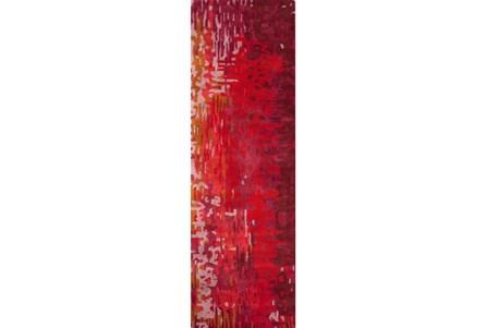 30X96 Rug-Pintura Cherry