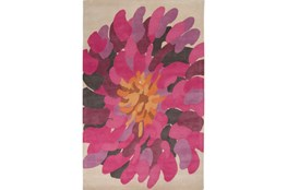 108X156 Rug-Chrysanthemum Magenta