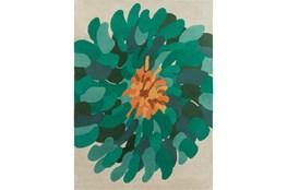 96X132 Rug-Chrysanthemum Emerald